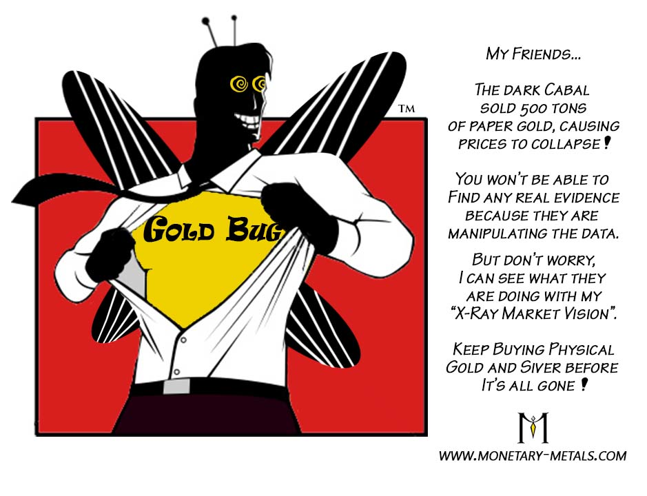 Goldbug man