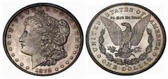 Real Silver Dollar