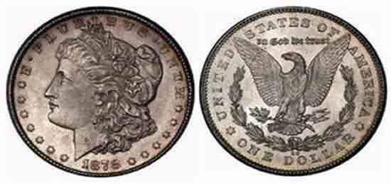 Real Silver Dollar