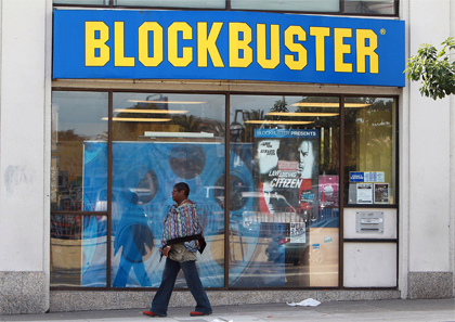 A Blockbuster Video store - File / Photo: Justin Sullivan/Getty Images