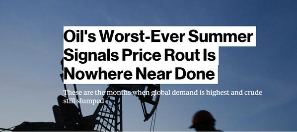 oil carnage